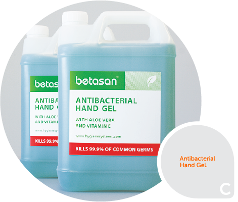 Betasan 5L anti-bacterial hand gel product Image