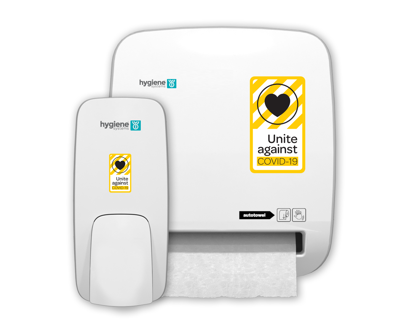 Autotowel & Soap Dispenser