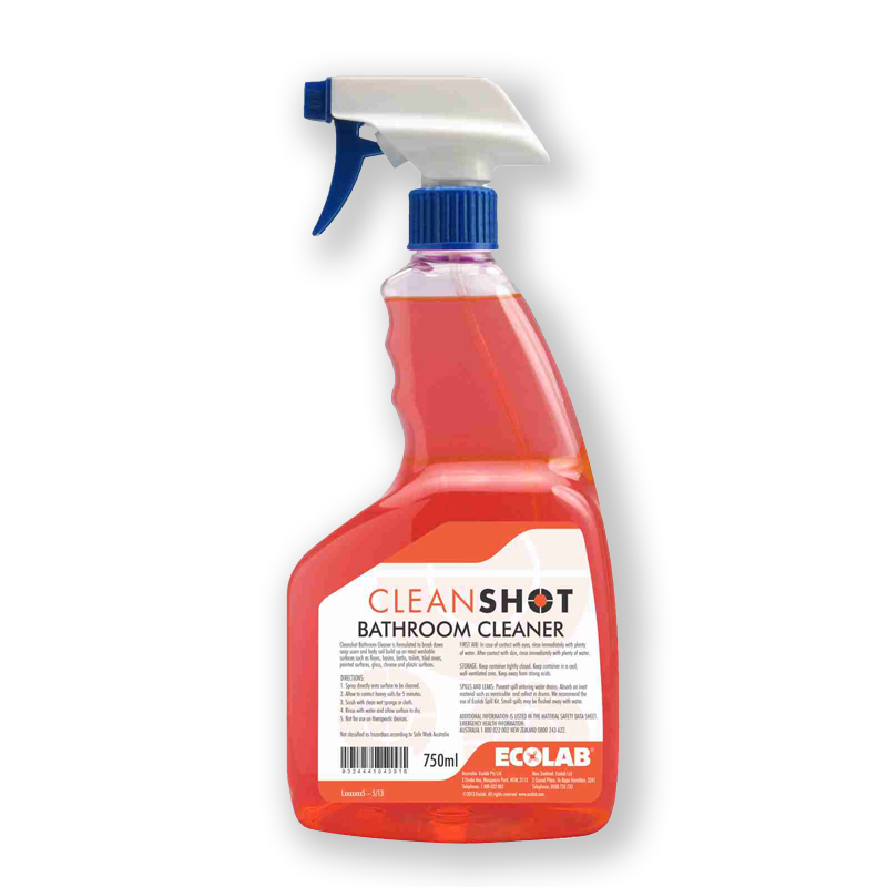 cleanshot bathroom cleaner