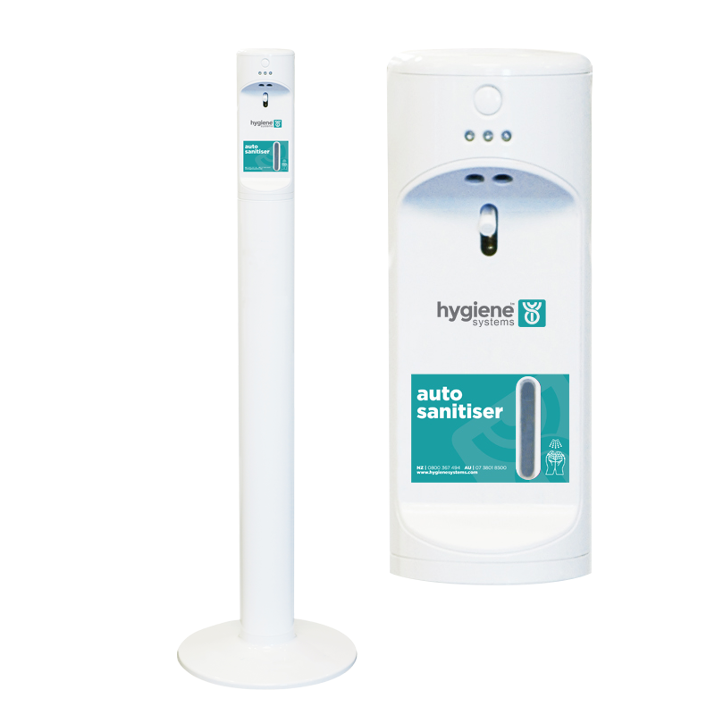 autosanitiser with wall mount