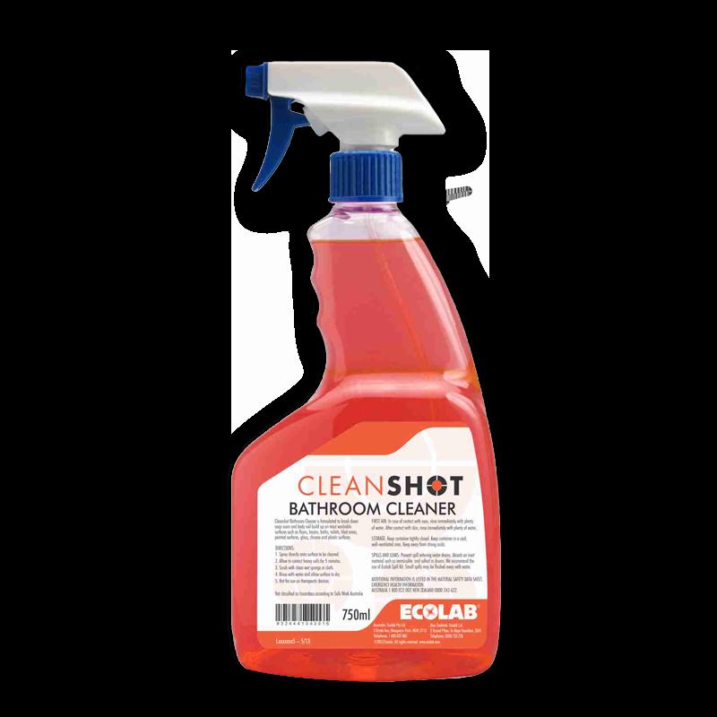 cleanshot bathroom cleaner