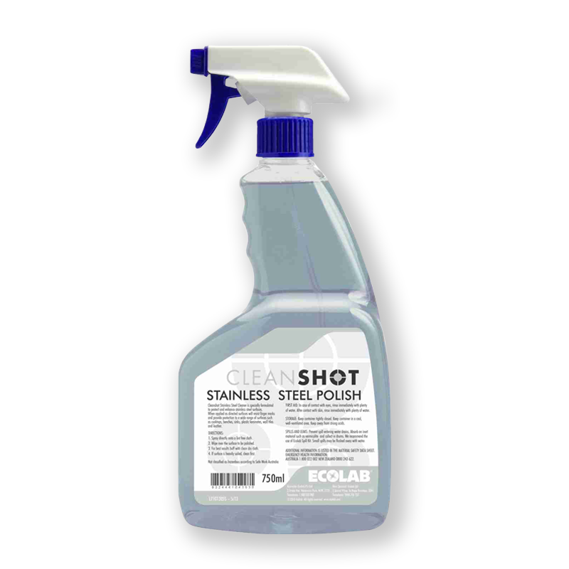 cleanshot stainless steel polish